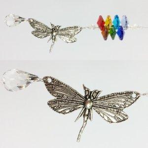 chakra dragonfly suncatcher #1