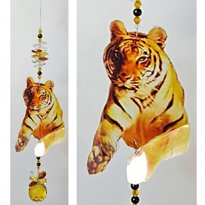 tiger suncatcher