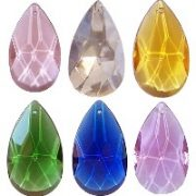50mm crystal teardrop pendants