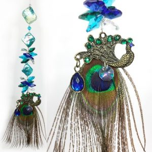 peacock suncatcher #01