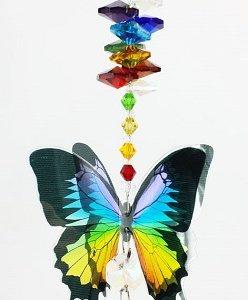 chakra butterfly suncatcher #1
