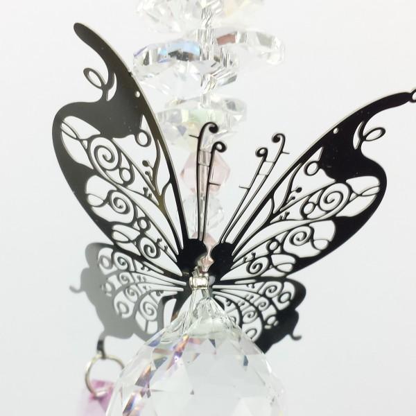filigree butterfly suncatcher #1