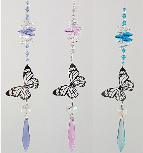 butterfly filigree suncatcher #2