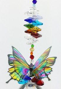 chakra butterfly suncatcher #3