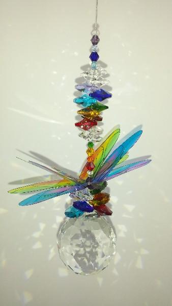 chakra dragonfly suncatcher #3