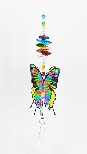 chakra butterfly suncatcher #2