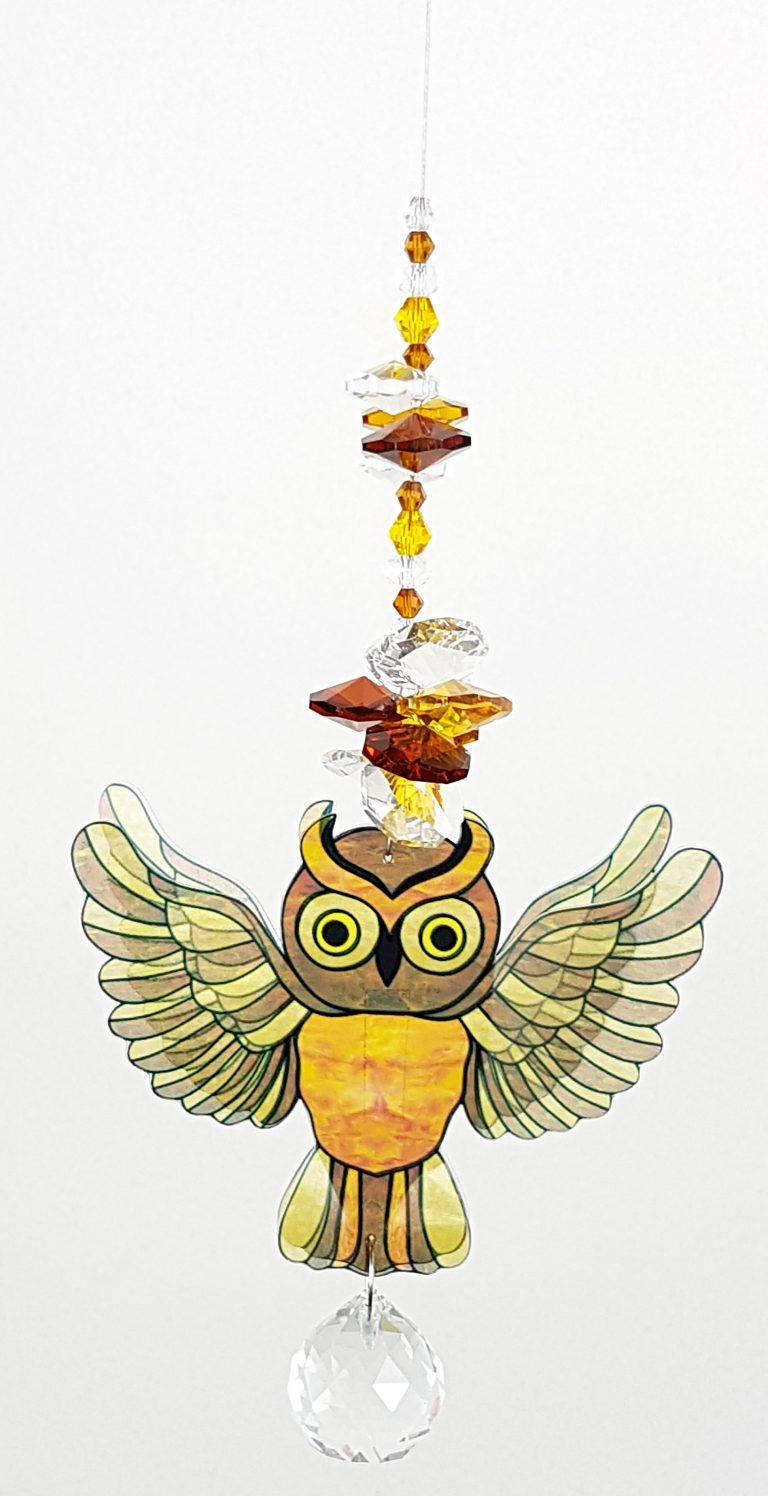 owl suncatcher #1 small size