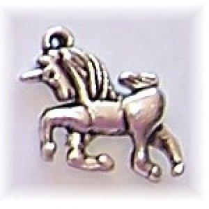unicorn charm small #1