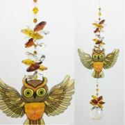 owl suncatcher #1 large size