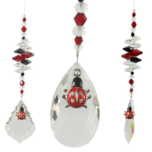 lady bug suncatchers
