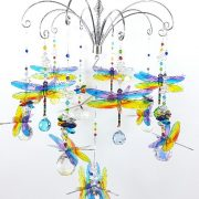 chakra dragonfly chandelier
