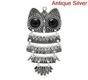 large owl charm 1