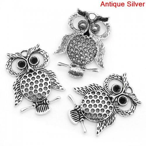 large owl charm #4