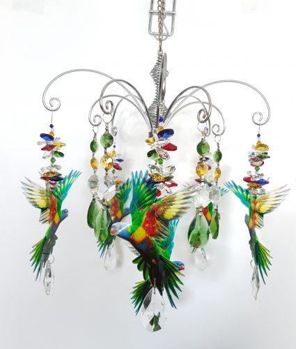 lorikeet chandelier 3