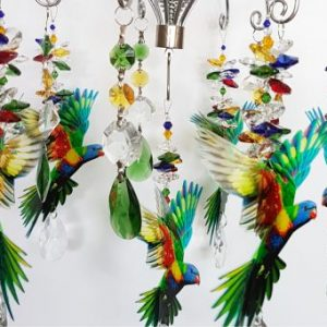 lorikeet chandelier 1