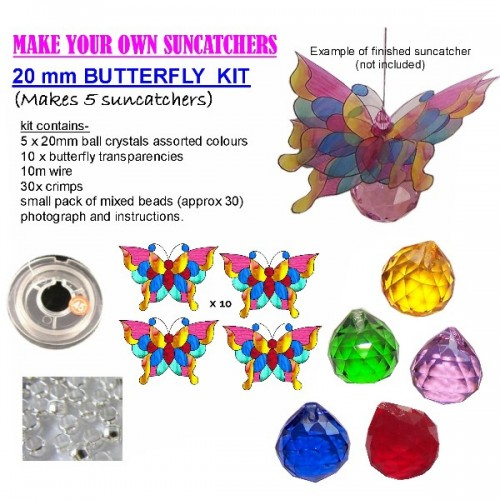 butterfly suncatcher kit