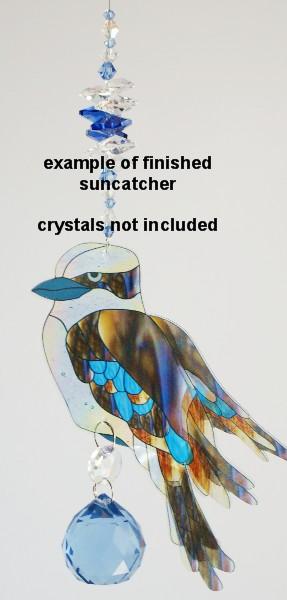 kookaburra suncatcher example
