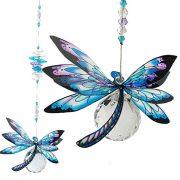 pastel dragonfly suncatcher #1