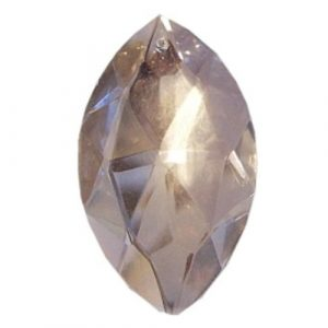 pointed pendant crystal