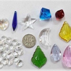 30 mixed suncatcher pendants set D
