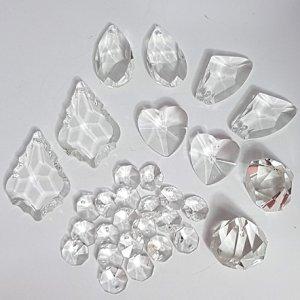 setA crystal suncatcher crystals