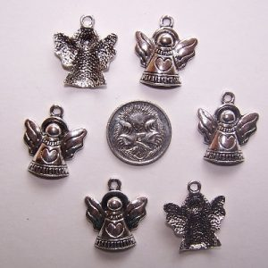 angel charm #3 pack of 6