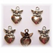 angel charm #2 pack of 6