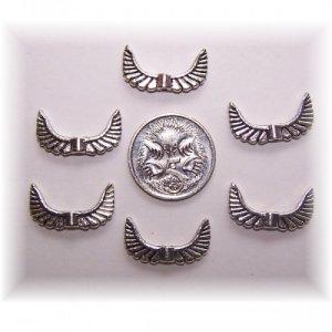 angel wing bead #3 pack of 10