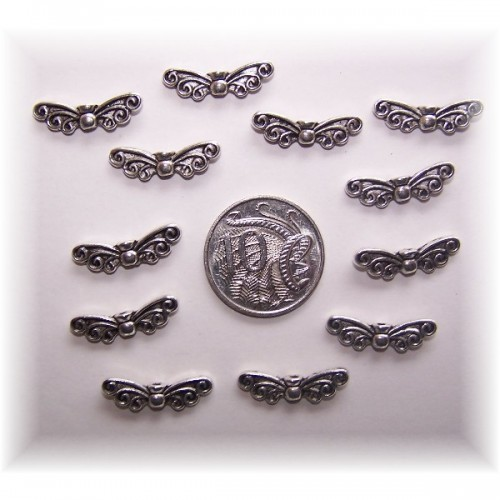 angel wing bead #6 pack of 10