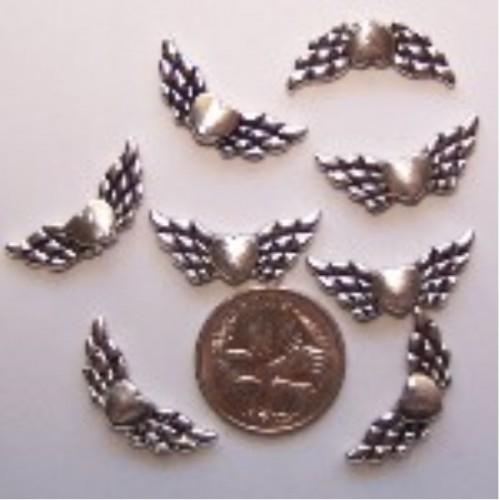 angel wing bead #7 pack of 10