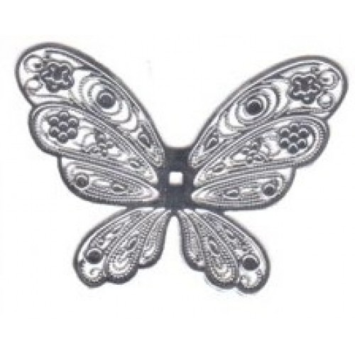 filigree angel wing f01