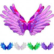 angel 1 craft film cutouts