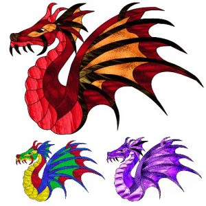dragon craft film cutouts