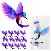 hummingbird film cut outs gnc
