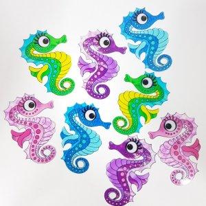 seahorse craft film cutouts