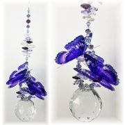 ex large purple buterfly suncatcher