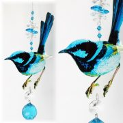 fairy wren suncatcher #1