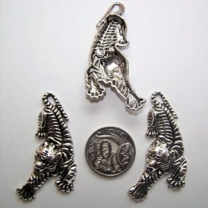tiger charms pack of 4