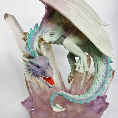ice dragon figurine ornament