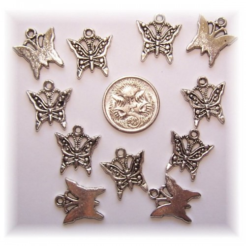 Butterfly charm #2 pack of 6