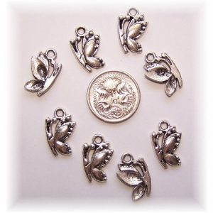Butterfly charm #3 pack of 10