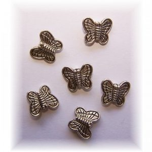 butterfly beads #2 pack of 10