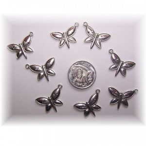 butterfly charm #1 pack of 6