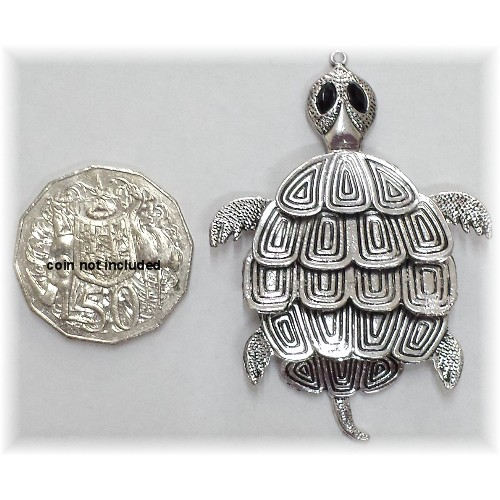 large turtle charm