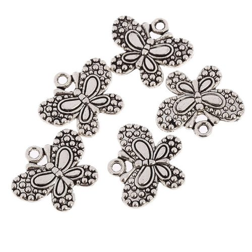 butterfly charm #10 pack of 6