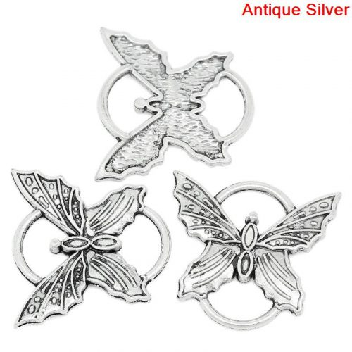 butterfly charm #6 pack of 5