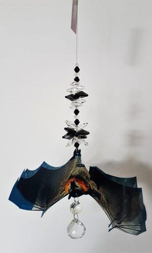 crystal suncatcher bat #1