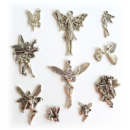 charm pack -10 pc fairy set