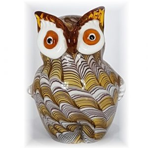 glass owl figurine #1