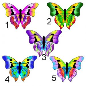 pastel butterflies craft film desigs